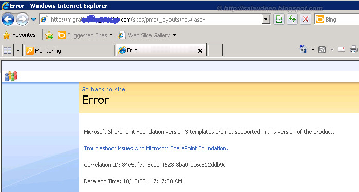 Rx sharepoint migrating sharepoint 2007 site list for Sharepoint 2007 site templates