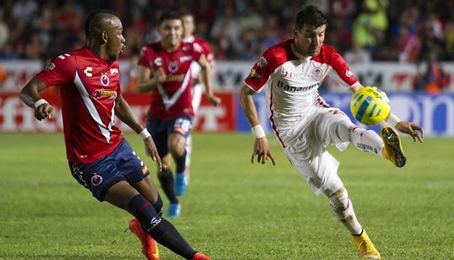 Ver partido Veracruz vs Toluca en vivo