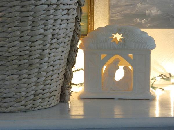 Rustic Christmas Home Tour 2015 Nativity