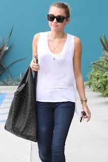 Miley Cyrus Candids