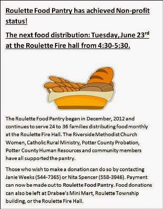 6-23 Roulette Food Pantry