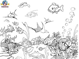 Printable Coloring Pages Puffer Fish