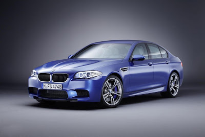 BMW M5 (2012) Front Side