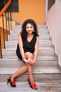 Actress Vishnu Priya  Pictures in Black Short Dress at Man of the Match Audio Release Function  0025.jpg