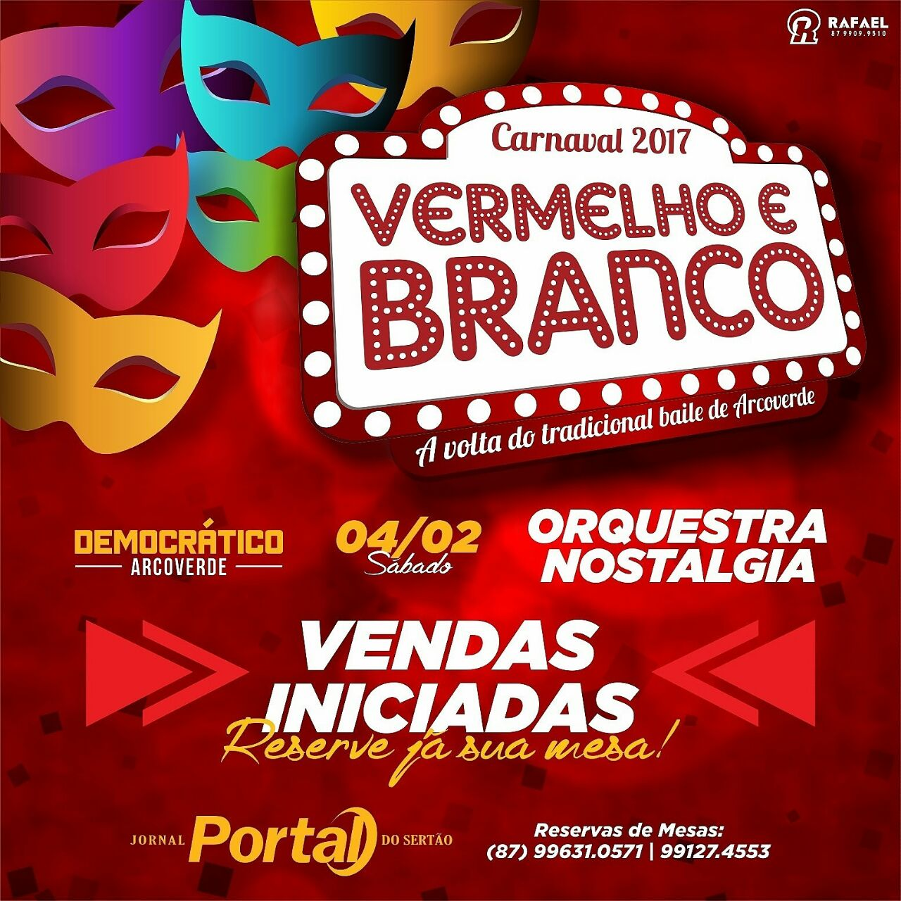 Carnaval 2017 em Arcoverde