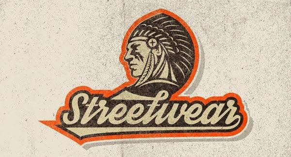 Streetwear typeface