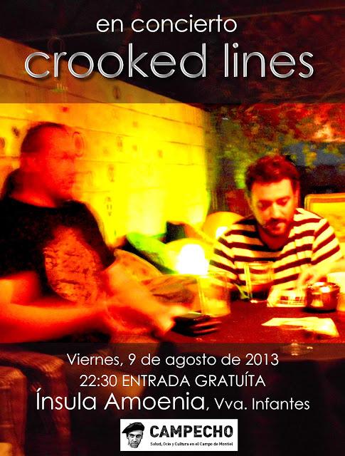 Crooked Lines, Campecho, Campo de Montiel