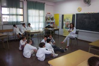 Fiesta de la lectura -escuela nº 249 -Compartimos talleres con alumnos de la Escuela nº 34