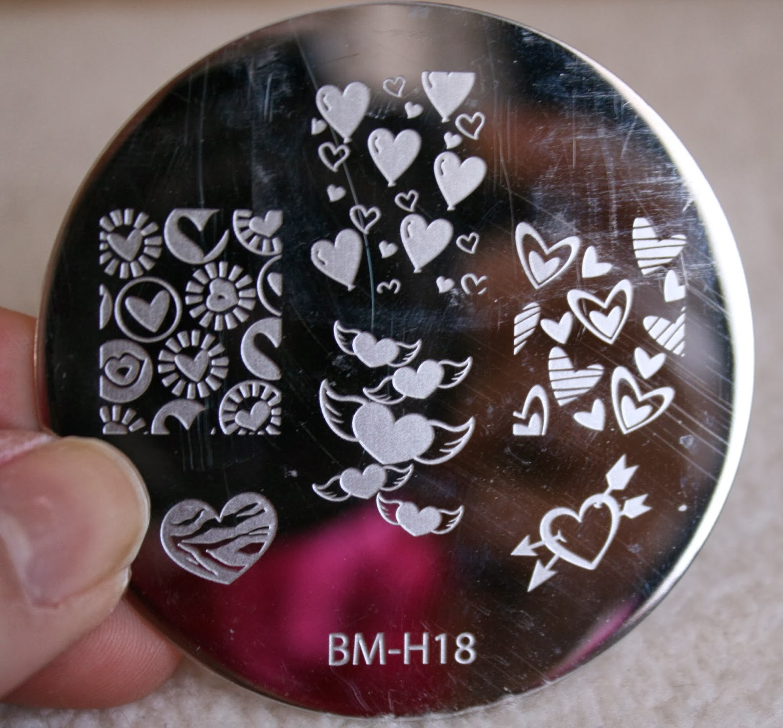 bundle monster nail stamping plates set collection holiday 2013 nails art stamp konad bm-h18
