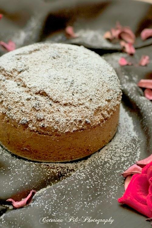 Torta con amaretti ,ricetta light Bimby