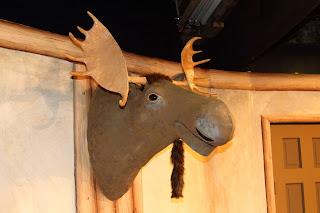 paper mache moose head