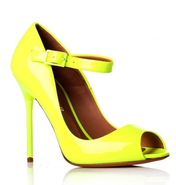 brand footwear best shoes neon colors summer 2012 continue