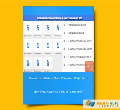 Download Silabus Mata Pelajaran Wajib A, B, dan Peminatan C1 SMK Terbaru 2015