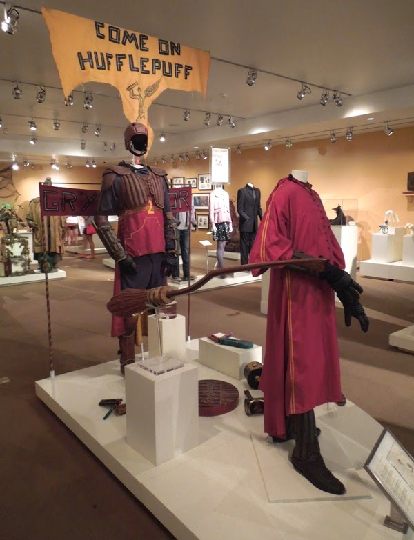 Harry Potter Quidditch costumes props