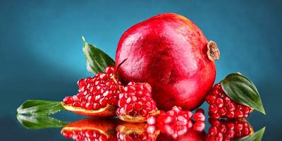 khasiat buah delima merah