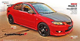 Mazda 3 2003-2009 Body Kit