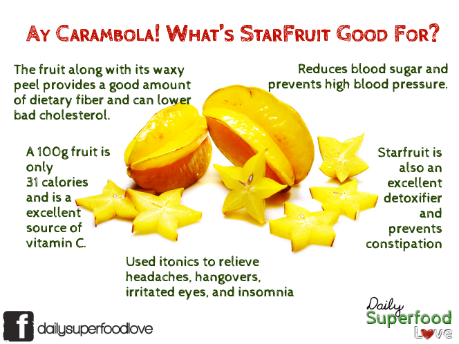 benefits starfruit