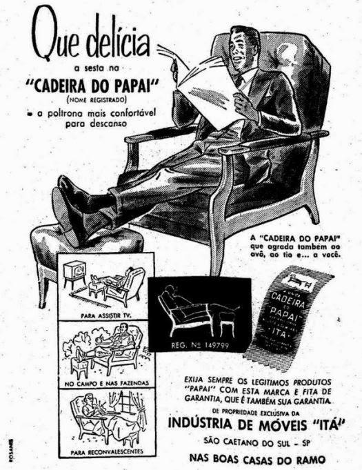 A poltrona fabricada pela Móveis Itá, de São Caetano do Sul, tinha nome registrado e virou sinônimo de cadeira confortável.