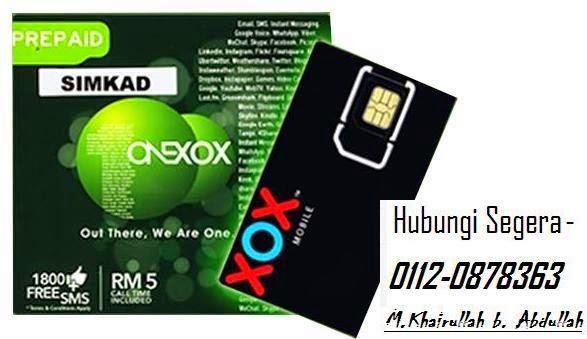 Pelan Prabayar Terbaru ONEXOX jimat gilerr