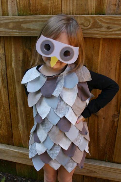 DIY disfraz búho