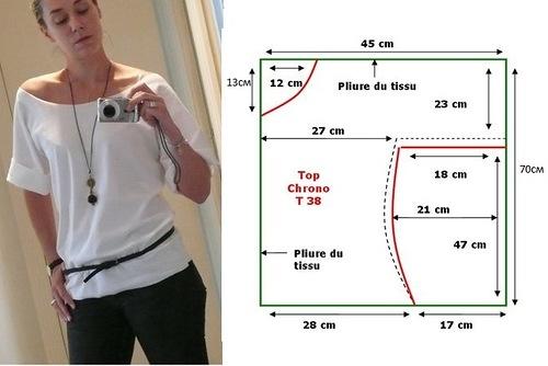 Как сшить блузку своими руками начинающим