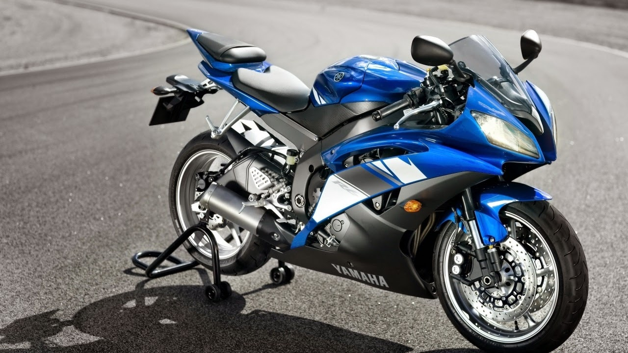 Yamaha-Superbike r1 wallpaper blue white color cool