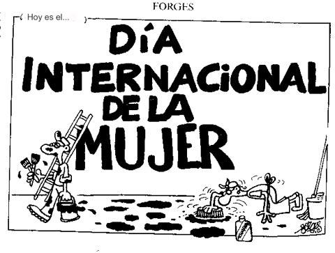 dia internacional mujer informacion: