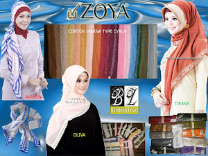 Jilbab ZOYA Murah (Stock Terbatas)
