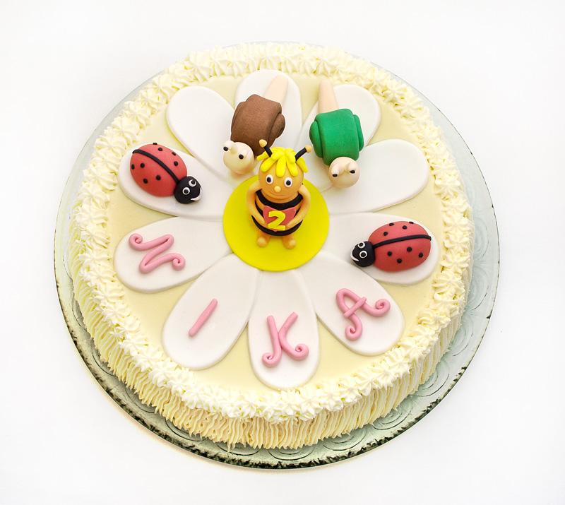 Bee Maya cake top