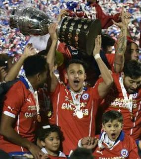 Ini Rahasia Kunci Sukses Chile Menumbangkan Argentina di Final Copa America 2015