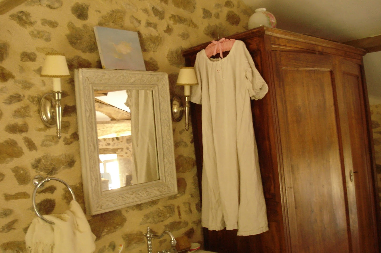 Salle de bain romantique chic - Carrelage salle de bain romantique ...