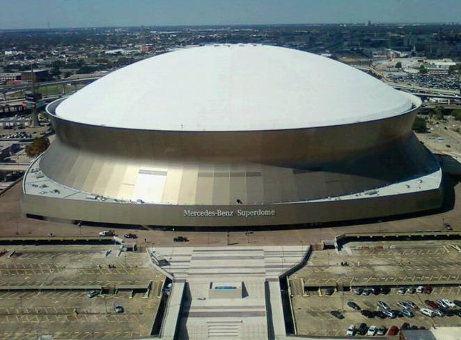 super estadio mercedes-benz donde se transmitio wrestlemania 30 un ppv de la WWE que dio mucho de que hablar