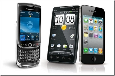 Kelakuan Pengguna Android vs Blackberry vs Iphone