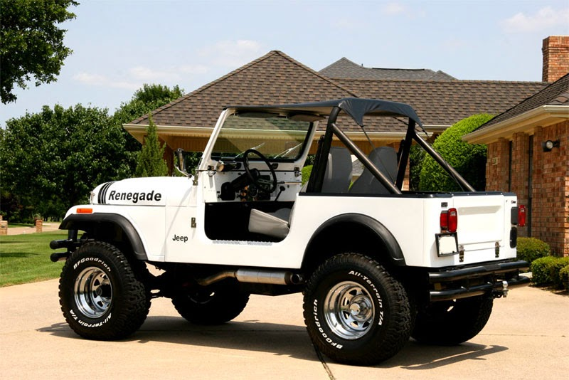Modifikasi Mobil Jeep CJ-7 Tahun 77