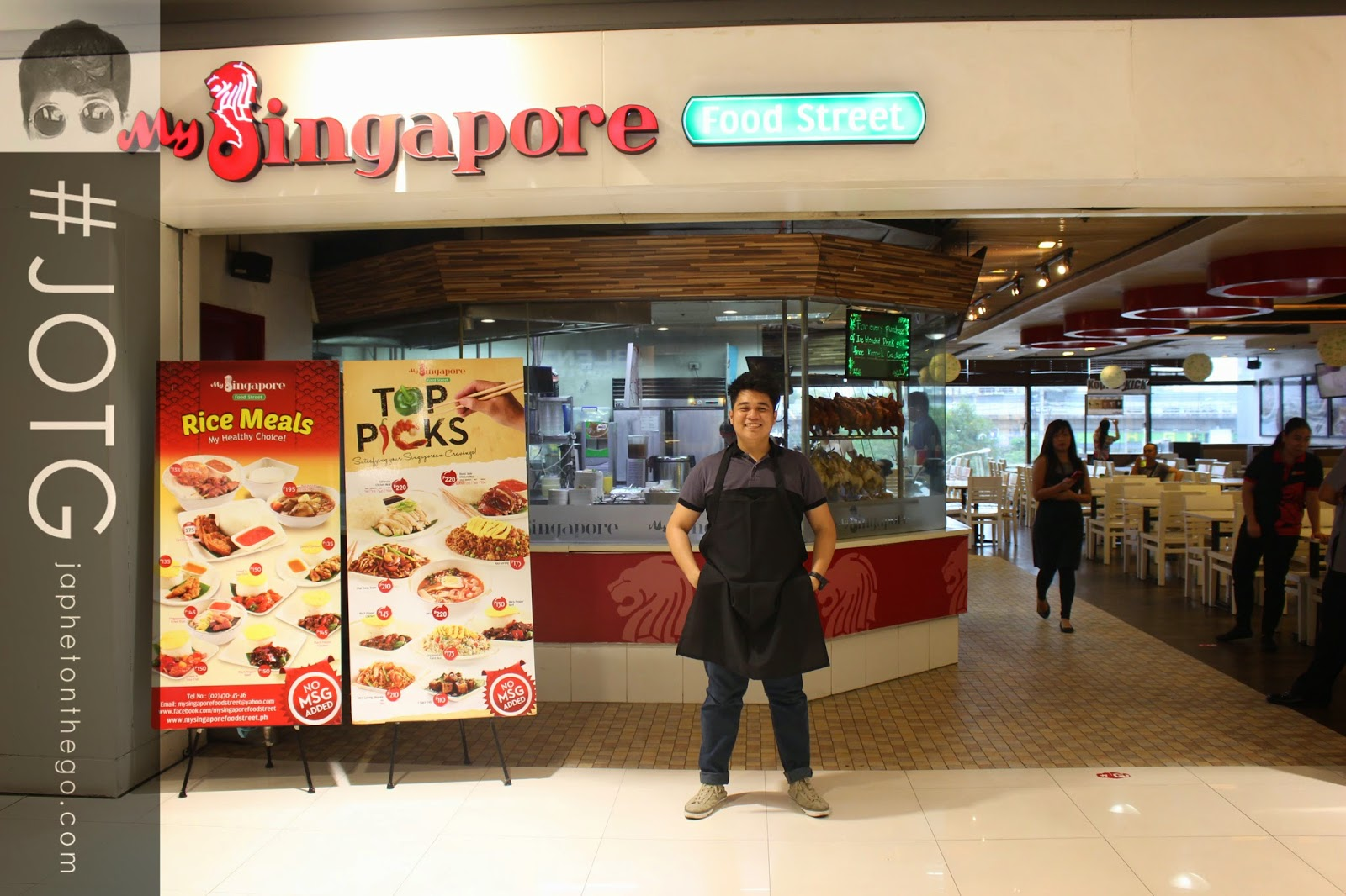 #JOTG: Conquered My Singapore Food Street