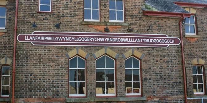 Desa dengan nama terpanjang di Eropa