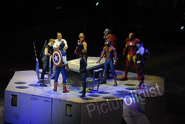 Avengers | Marvels Universe Live | Photo by Picturologist