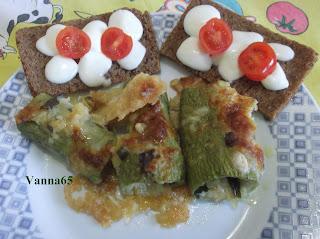 cannelloni di zucchina