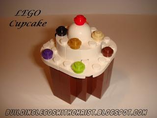 LEGO Food Creations, LEGO Cupcake
