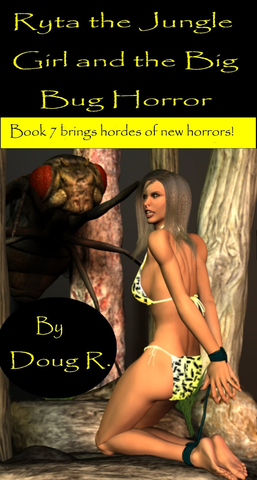 Ryta the Jungle Girl and the Big Bug Horror