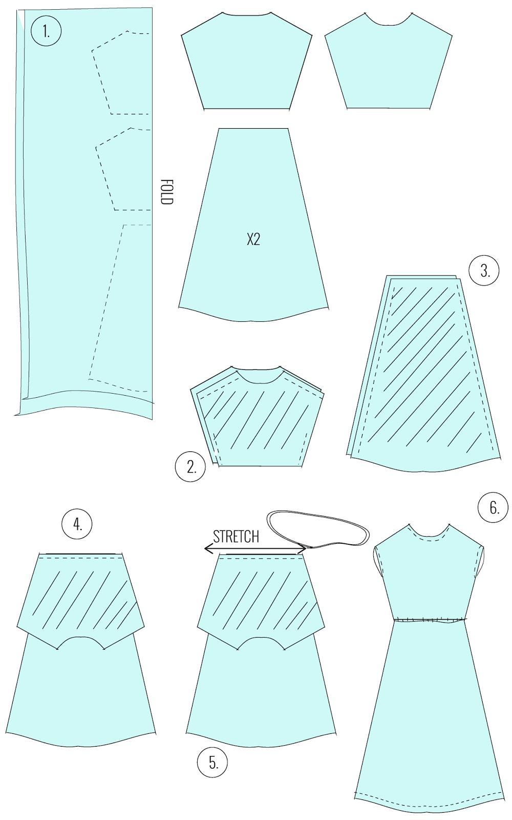Side Slit Maxi Dress Tutorial Diy Clothes