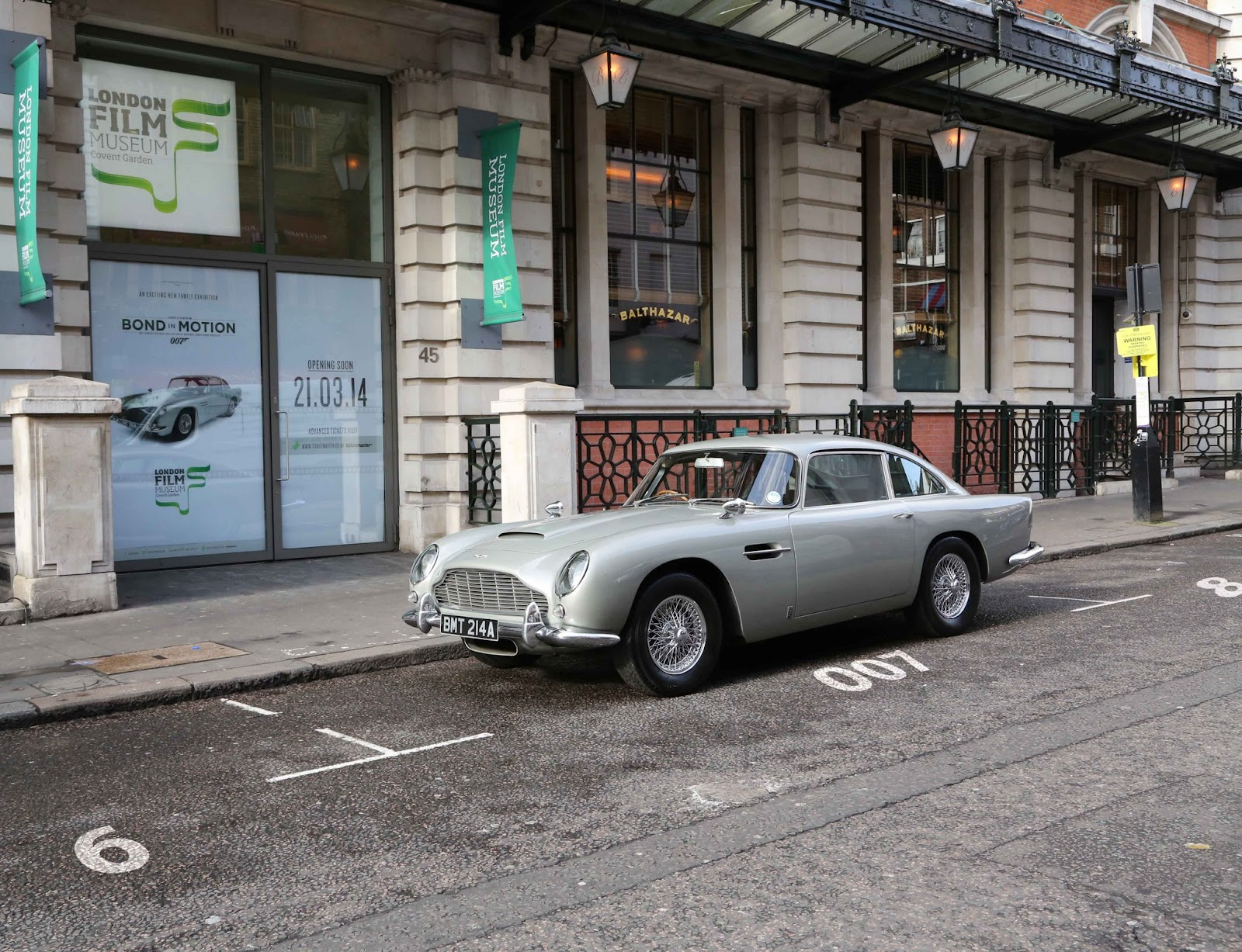 Bond in Motion London Film Museum Aston Martin DB5 GoldenEye