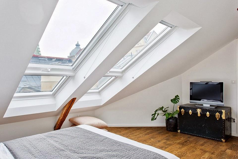 amenajari, interioare, decoratiuni, decor, design interior, duplex, apartament 5 camere, stil scandinav, mansarda, dormitor
