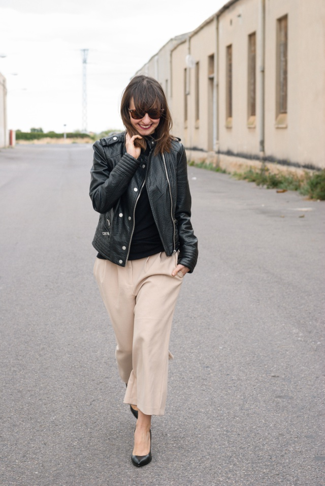 Culotte Pants Look
