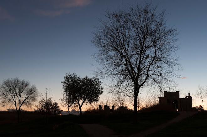 Atardecer, noviembre 2012