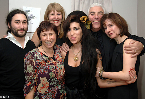 amy winehouse family
