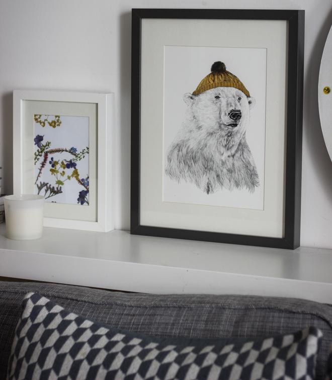 Ohh Deer Bear Illustration - Home Decor inspiration