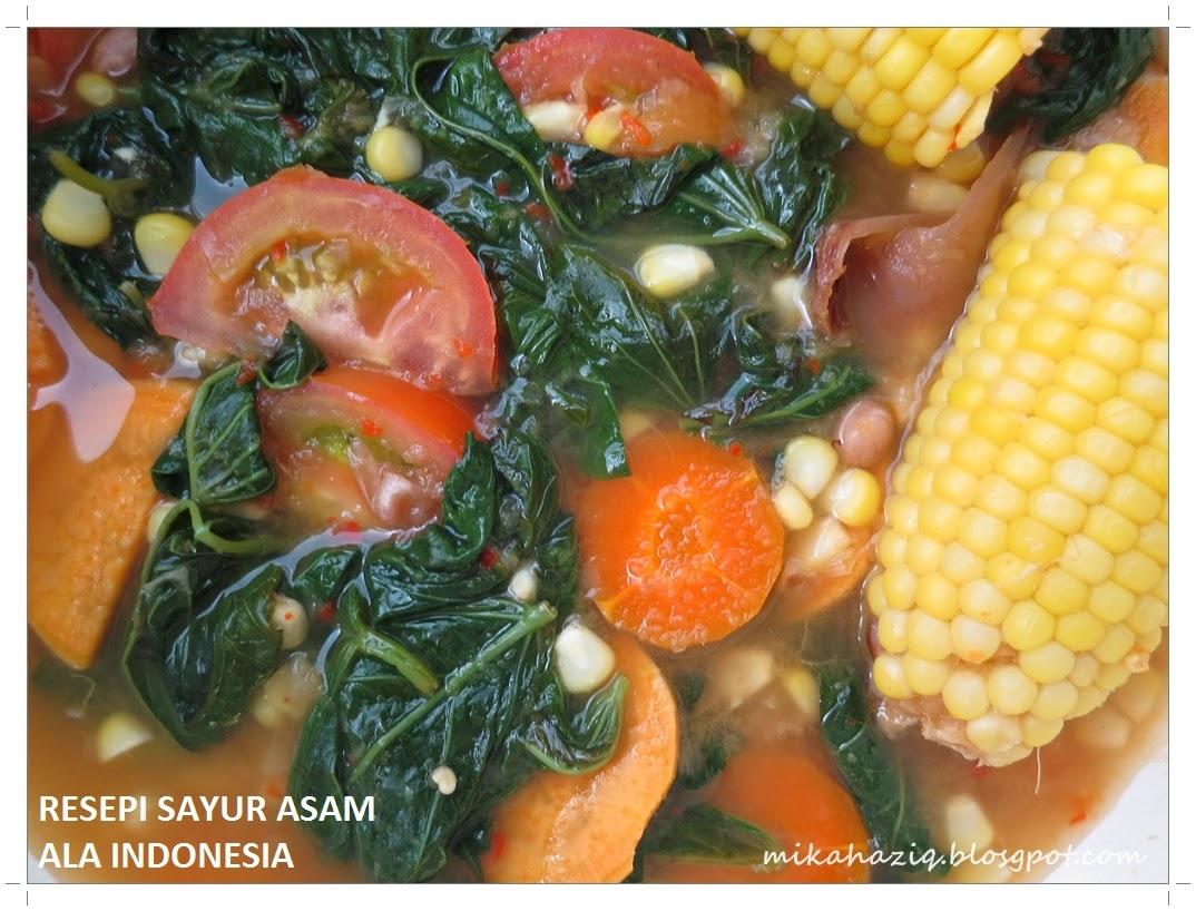 sayur asam resepi