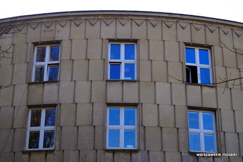 Warszawa Ochota Hankiewicz 1 archiwa państwowe Pniewski Bohdan rotunda lata 50.