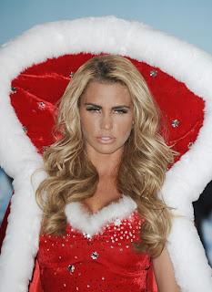 Katie Price, Santa Baby, Christmas Costumes